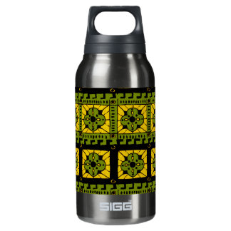 Rustic Clover pattern Insulated Water Bottle