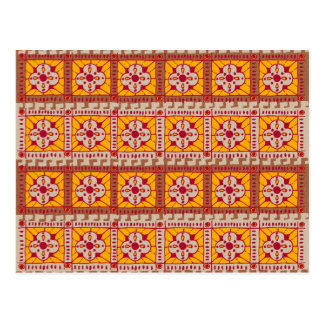 Rustic Clover pattern Postcard