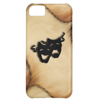 Rustic Comedy and Tragedy Theater Masks iPhone 5C Case