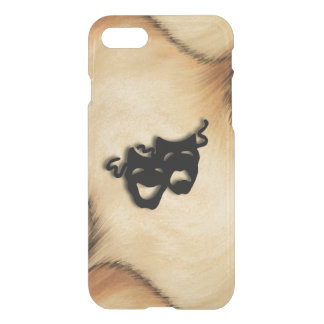 Rustic Comedy and Tragedy Theater Masks iPhone 7 Case