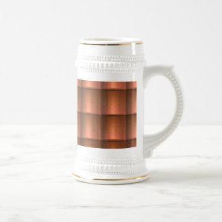 Rustic Copper Tiles Mug