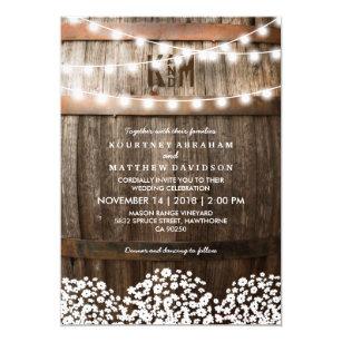 Country Wedding Invitations Zazzle