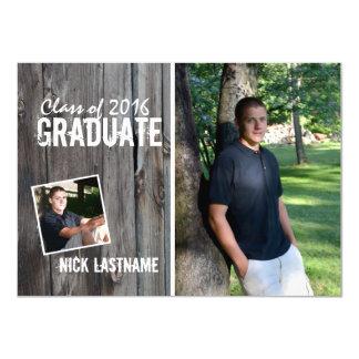 Rustic Country Barn Graduation Card