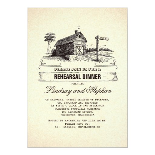 Rustic Rehearsal Dinner Invitations is the best ideas you have to choose for invitation example