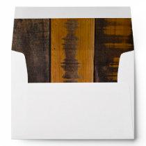 Rustic Country Barn Wood Envelope