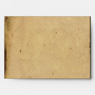 Rustic Country Barn Wood Wedding Envelope