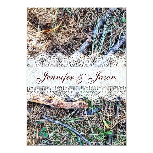 Camouflage Wedding Invitations for your inspiration to make invitation template look beautiful