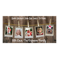 Rustic/Country Christmas Card