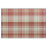 Rustic Country Christmas Holiday Tartan Plaid Fabric