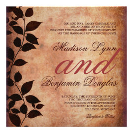 fall wedding invitations  rustic country wedding invitations, Wedding invitations