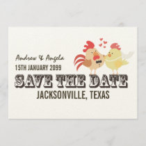 Rustic Country Farm Wedding Save the Date