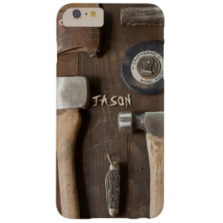 Rustic Country Handy Tools Carpenter Wood Worker Barely There iPhone 6 Plus Case