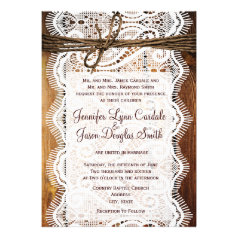 affiliate program rustic country wedding invitations Wedding Invitation Affiliate Program rustic country lace twine wood wedding invites wedding invitation affiliate program