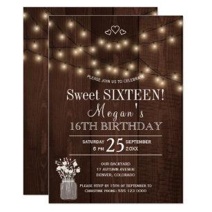country birthday invitations zazzle