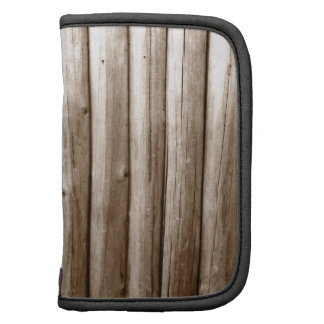 Rustic Country Log Cabin Distressed Vintage Wood Planners