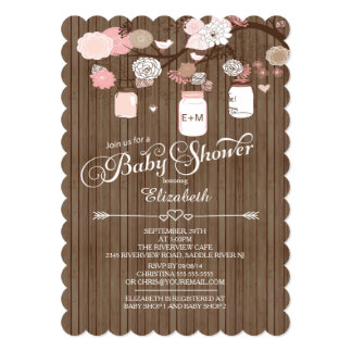 country baby shower invitations announcements zazzle