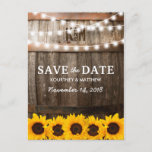 """Rustic Country Save the Date 