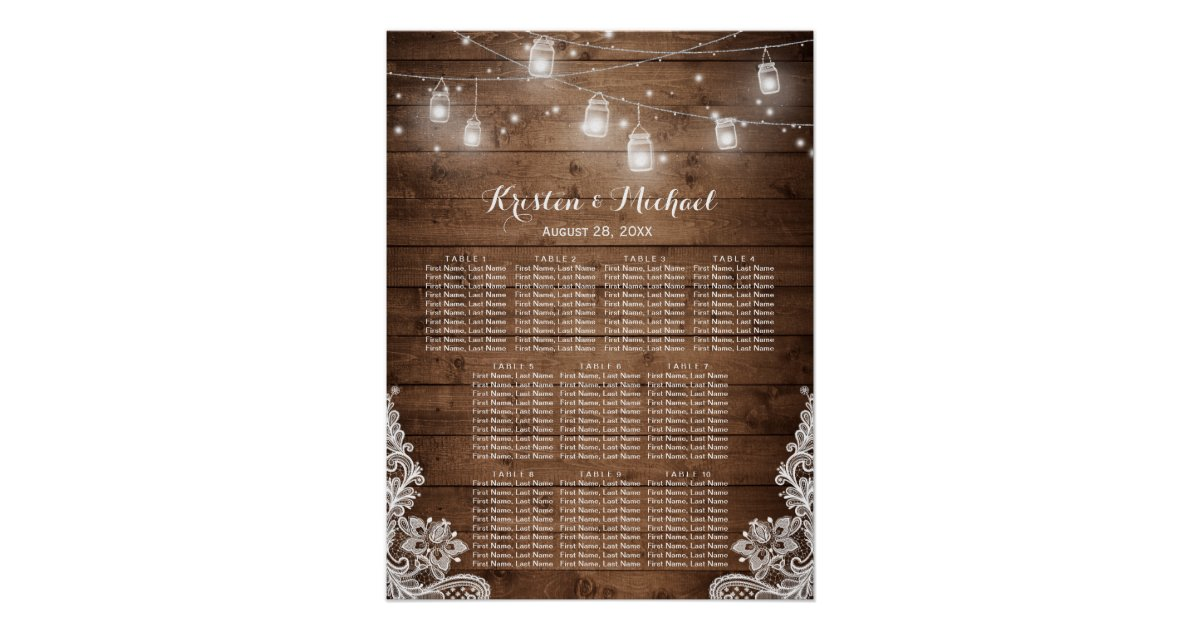 Wedding Seating Chart Posters – Costco Birthday Invitations
