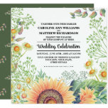 Rustic | Country Sunflowers Wedding Invitations