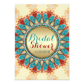 Rustic Country Sunshine Bridal Shower Card