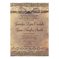 affiliate program rustic country wedding invitations Wedding Invitation Affiliate Program rustic country vintage burlap wedding invitations wedding invitation affiliate program
