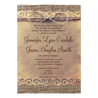 Country Style Wedding Invitations was very inspiring ideas you may choose for invitation ideas