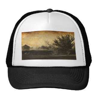 Rustic Country Vintage Photograph Trucker Hat