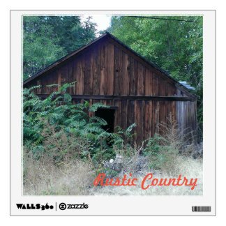 Rustic Country Wall Decal