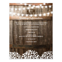 Country Wedding Invitations U0026 Announcements | Zazzle