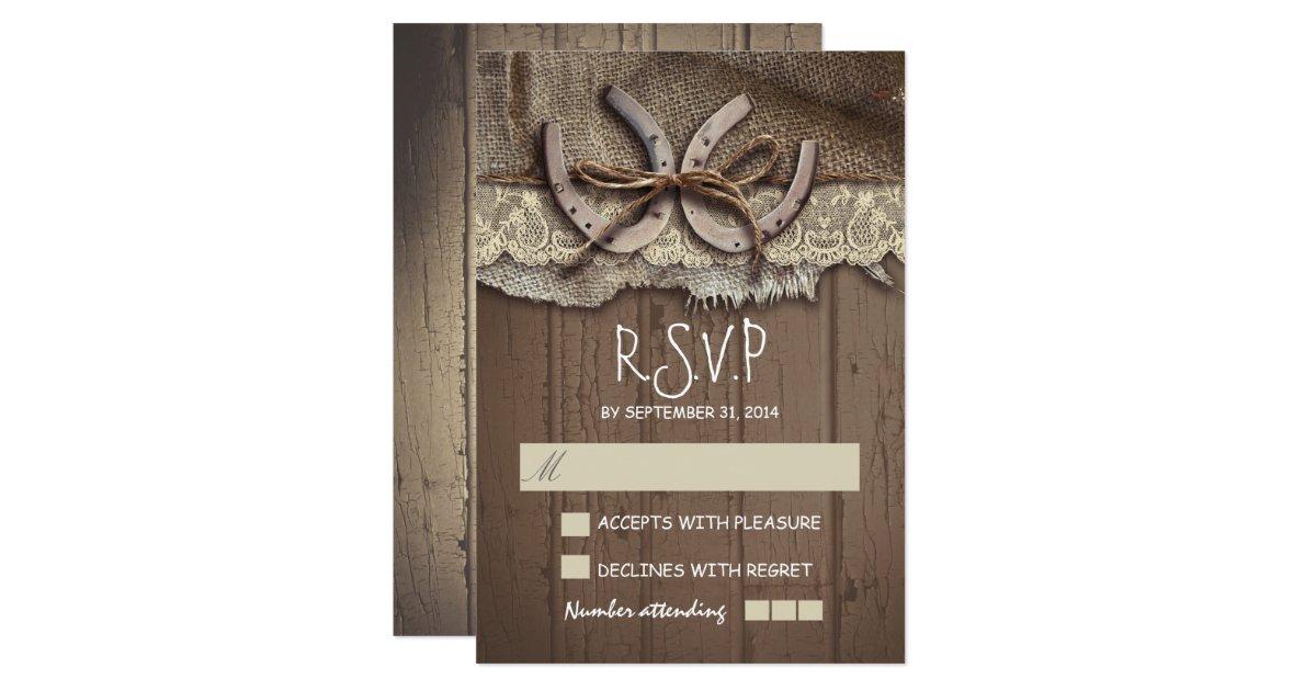 Rustic Wedding Invitations Announcements – Rustic Elegance Wedding Invitations
