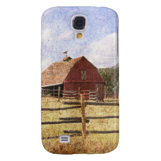 Rustic Country Western Barn Galaxy S4 Cover