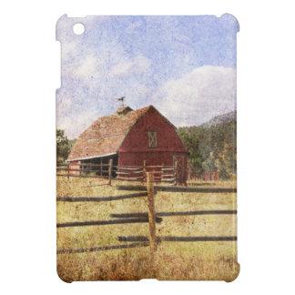 Rustic Country Western Barn iPad Mini Cases