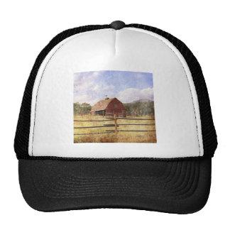Rustic Country Western Barn Trucker Hats