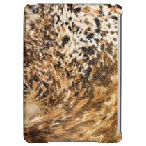 Rustic Country Western Swirl Cow Hide Patterns Case For iPad Air