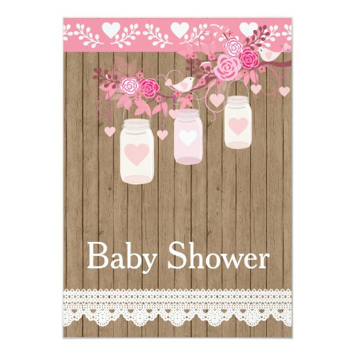 rustic country wood baby shower invitation zazzle