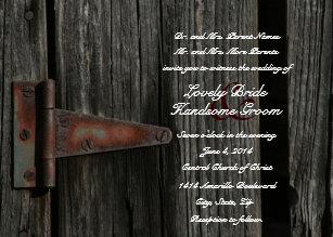 Barn Door Wedding Invitations