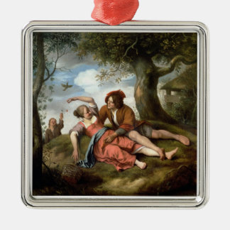 Rustic Courtship Ornament