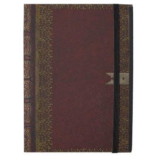 Rustic Covers Maroon Leather Gilded