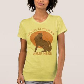 Rustic Coyote Southwest Howling At The Moon T-Shirt