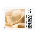 Rustic Cream Rose Wedding Postage Stamp