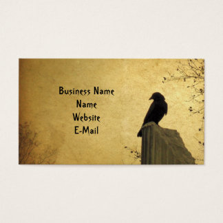 Rustic Crow Business Card