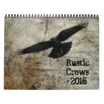 Rustic Crows 2018 Calendar