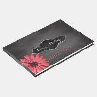 Rustic Daisy | Chalkboard Wedding Guest Book
