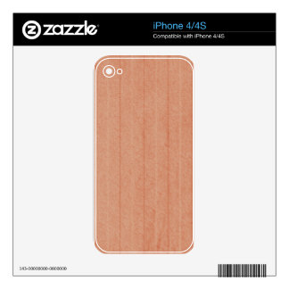 Rustic Dark Salmon Decal For iPhone 4S