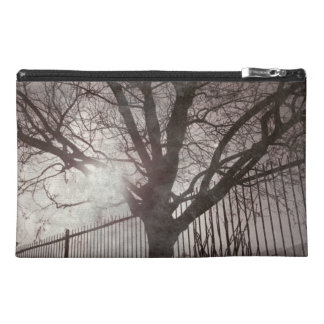 Rustic Distressed Tree Silhouette Grunge Travel Accessories Bags
