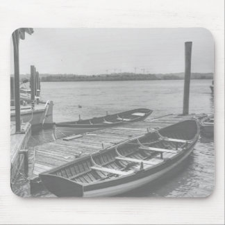 Rustic Dock Mouse Pad
