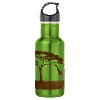 Rustic Dolphins Beach Wedding 18oz Water Bottle