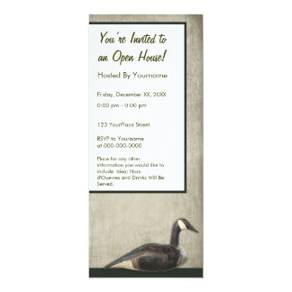 Rustic Duck Decoy Party Invitation