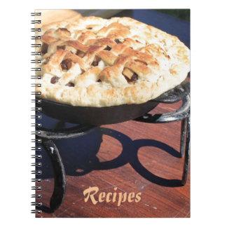 Rustic Dutch Oven Pie Recipe Note Books