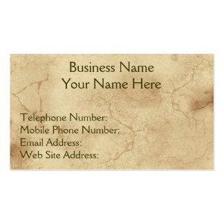 RUSTIC EARTH (Light) Business & Profile Cards Business Card